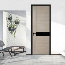 佛山红环铝木复合门防水生态门办公家居两用室内门房间卧室套装门厂家直销