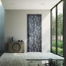 佛山高档环保静音卧室门轻奢极简房间门室内生态铝木门厂家定制