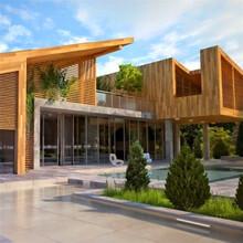 山西忻州轻钢别墅二层加盖埃菲尔图片