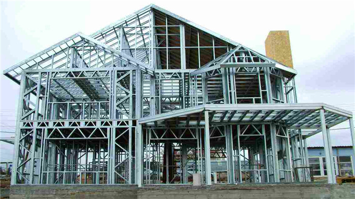 山西晉城輕鋼房屋二層加蓋舊房改造