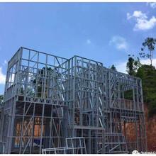 河南许昌农村轻钢别墅二层加盖旧房改造图片