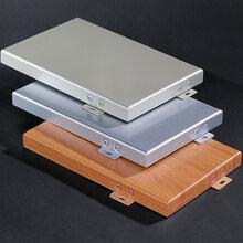 氟碳铝单板门头招牌铝单板幕墙铝单板弧形吊顶铝单板