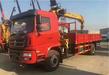 陕汽轩德单桥5米7货箱6.3吨随车吊厂家