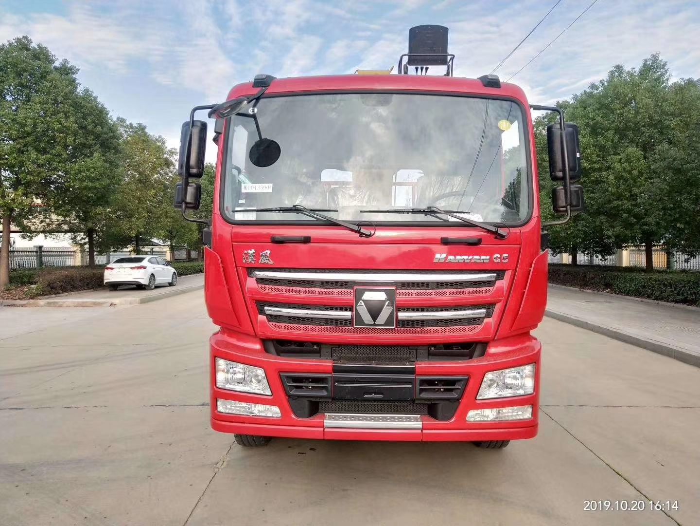 达州随车吊厂家推荐汉风G5后八轮8米5货箱徐工12吨随车吊