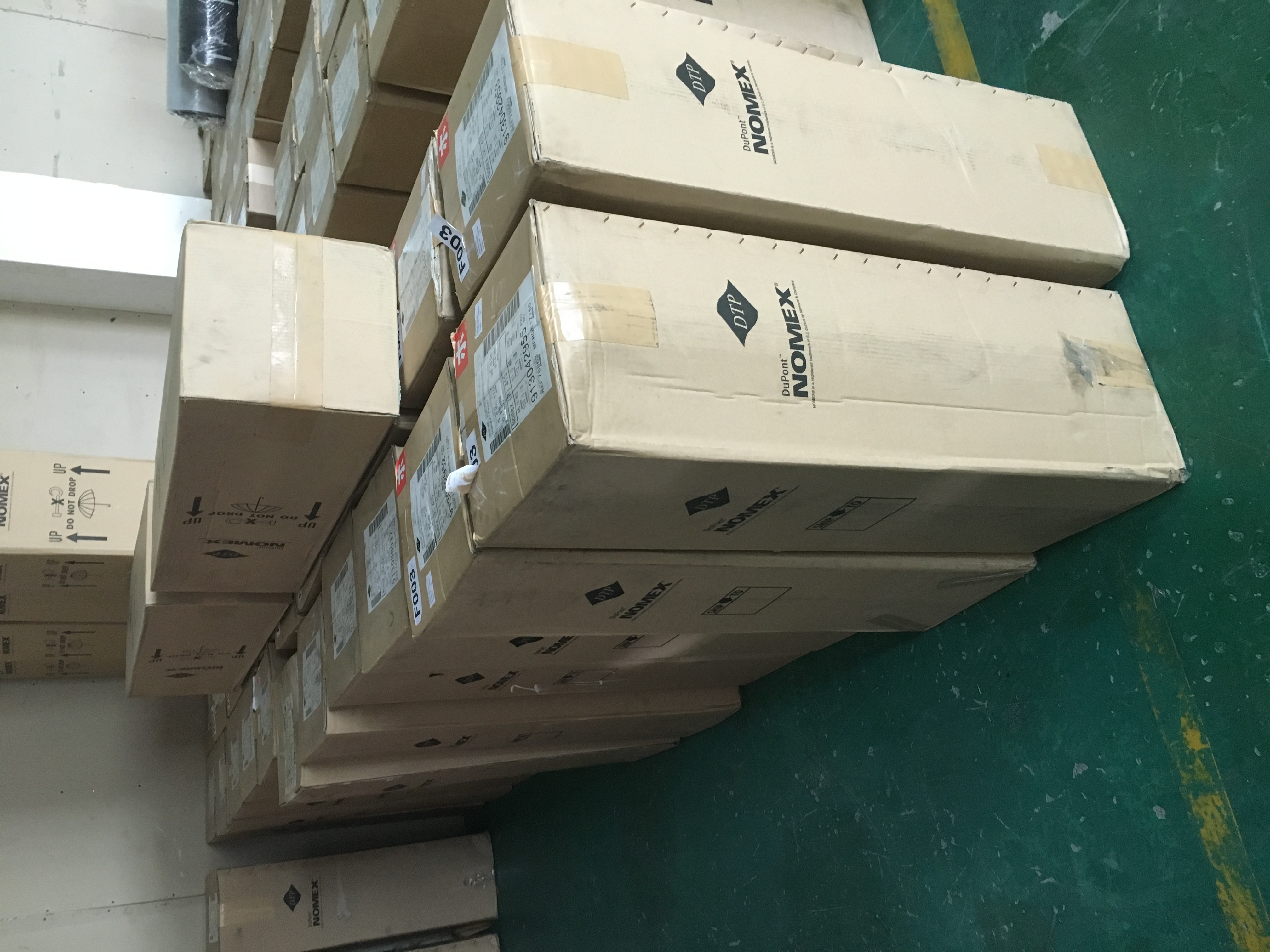 代理直销杜邦NOMEX绝缘纸T410.411.416.464等,防火隔热固有介电,用于变压器电子电气