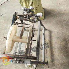 小型手動稻草繩編織機打草繩機草繩機擰繩機圖片