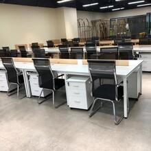 宁波专业定制办公桌厂家直销办公室桌子生产厂家图片