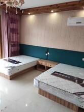 杭州专业制造酒店单人床生产厂家图片