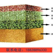 内江市透水混凝√土,彩色混∞凝土,透水路面图片