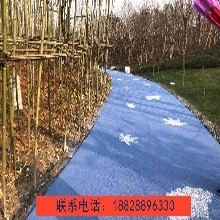 黔江区透水石地坪、胶粘石透水混凝土图片