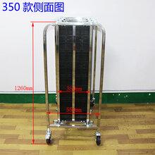 鸿成达厂家直销防静电PCB板周转车不锈钢周转车PCB槽板车图片