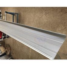 南昌市铝镁锰屋面扇形弯弧板、0.9mm聚酯铝镁锰板现货图片