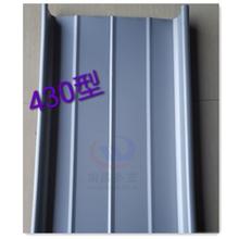 0.8mm扇形弯弧合金板白银灰氟碳涂层铝镁锰板图片