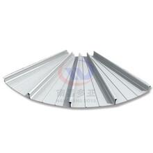 可現場加工生產鋁鎂錳合金板、扇形彎弧鋁鎂錳屋面板圖片