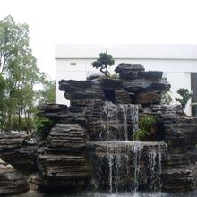 張家口假山風景石安裝工程圖片