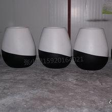 供应专业玻璃钢(欢迎来图来样订制)-玻璃钢花盆厂家