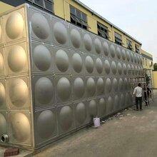 不锈钢水箱定做膨胀水箱不锈钢焊接水箱不锈钢水塔图片