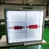 东莞惠华厂家直销60寸12透明液晶拼接屏展示柜
