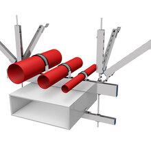 C型槽钢、抗震配件、绞链接AB