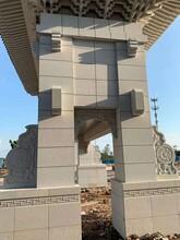 湖北黃金麻精裝石材別墅圖片