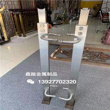 佛山定制不锈钢楼梯立柱304不锈钢玻璃夹支架佛山不锈钢立柱厂家图片