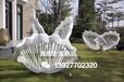 邯鄲景觀不銹鋼蝴蝶雕塑仿真抽象不銹鋼動物雕塑藝術特有的光芒與力量