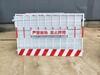 基坑護欄邊框護欄桃型柱護欄網現貨優惠價處理