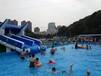 福建福州大型充气水池,手摇船项目