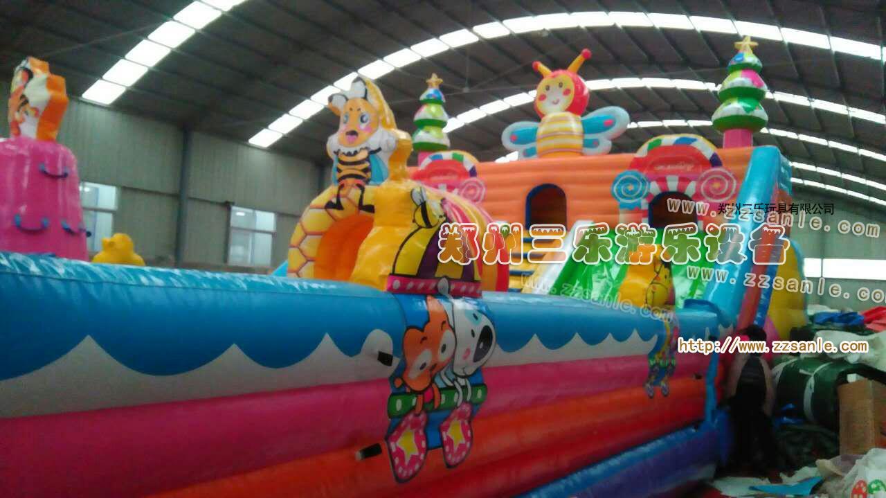 河南郑州四川决明子充气沙滩池价格 订做儿童玩... - 中国供应商
