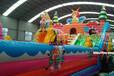 江苏南京市儿童充气城堡游乐设备支架水上乐园