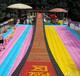 山東東營網紅橋充氣氣墊游樂設備項目三樂玩具廠