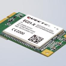 移远低速4Gcat1无线通讯定位模块EC21-E-MINIPCIE