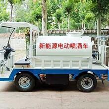 江蘇專業制造灑水車性價比最高電動灑水車圖片