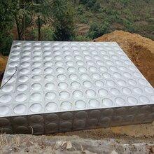云浮郁南不锈钢水箱厂家焊接式消防水箱304组合式方形水箱众杰新不锈钢保温水箱价格