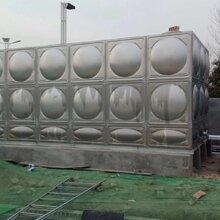 湛江坡头不锈钢水箱厂家众杰新不锈钢方形水箱价格焊接式消防水箱组合式保温水箱304
