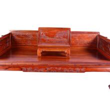 近期拍卖红木罗汉床价格图片