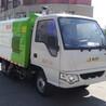国三东风福瑞卡3300MM轴距的小型干式吸尘车作业案例