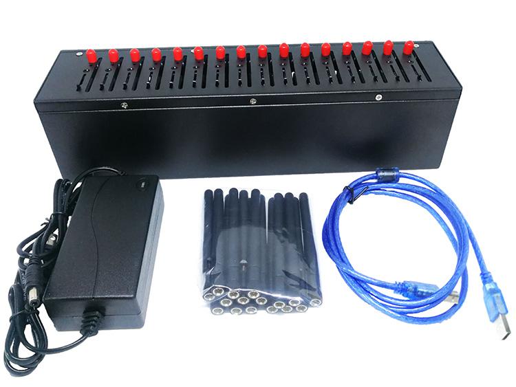 腾亨科技16口4GLTEMODEM全网通机房集中短信告警设备THCY016L