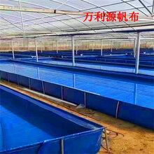 加厚镀锌板帆布鱼池厂家-帆布养鱼池价格-帆布水池图片