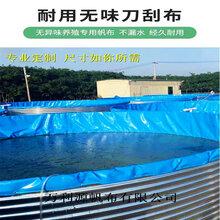 镀锌板帆布鱼池安装视频-圆形养殖鱼池价格-帆布养鱼池型号