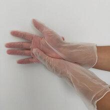 一次性手套食品餐飲pvc手術橡膠乳膠皮廚房加厚塑料透明丁腈塑膠圖片