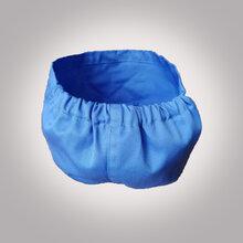 北京新宇新发专业定做防静帽子,蓝色涤棉防静电帽,防静电帽TC棉图片