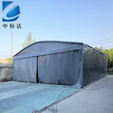 中恒达可移动雨棚夜宵雨棚,湘潭中恒达活动雨篷性能可靠图片