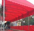 鄂州市钢结构大排档雨棚图片