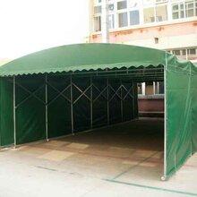 定制工地大型推拉雨棚活动雨棚篷定制移动式雨棚篷质量可靠图片