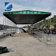 武汉中恒达定制电动雨棚户外推拉雨棚安装信誉保证图片