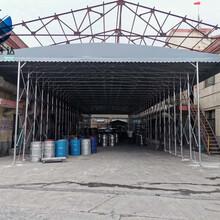 黄石市室外大型仓库雨棚经久耐用图片
