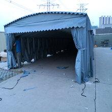 武汉电动推拉雨棚(篷)移动大排档雨棚(篷)图片