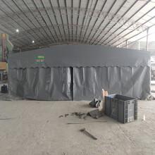 咸宁市优质大型仓库雨棚安装图片