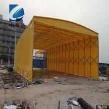 武汉市钢结构推拉雨棚结构图片